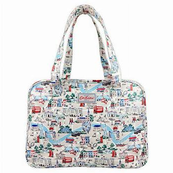 Cath Kidston Water Resistant Oilcloth Large Boxy Zip Bag