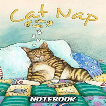 Gary Patterson Official Cat Nap Notebook