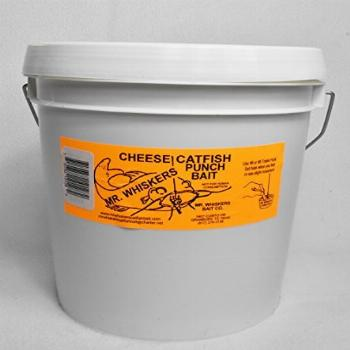 Mr. Whiskers Cheese Catfish Punch Bait - Gallon