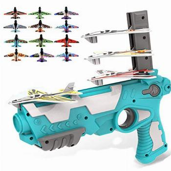 VNNO Catapult Plane, Airplane with 12 Pcs Glider Airplane
