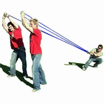 Water Balloon Launcher 500 Yard Toys 3 Person Slingshot 500