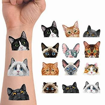 WIRESTER Temporary Tattoo Stickers for Girls Boys Kids