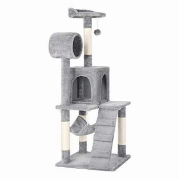 Yaheetech Cat Tree Tower Kitten Condo Scratching Post with